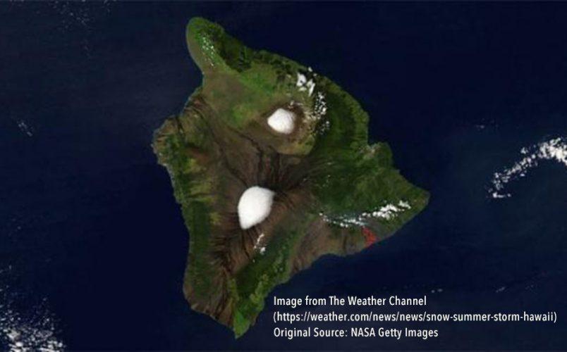 Hawaii-Snow