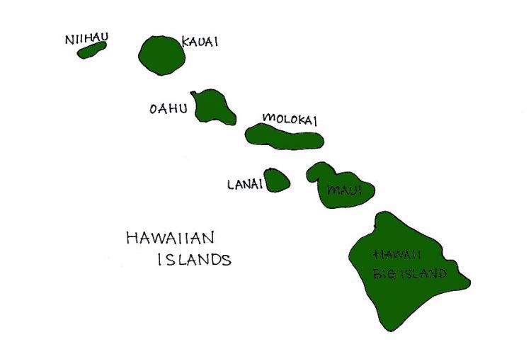 ハワイ 島 名前